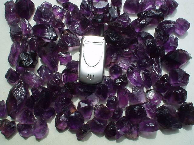 When was amethyst discovered in brazil